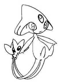 coloring pages pokemon azelf drawings pokemon