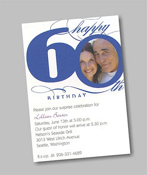 Happy 60th Birthday Card Template by Home Interior Garden 60th Birthday Decorations