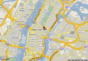 New York Map Google by Conroy And The Man The Ultimate Map