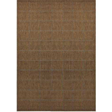 lowes rugs 5x8 shop balta 5 3 quot x 7 6 quot island weave patio area rug at lowes