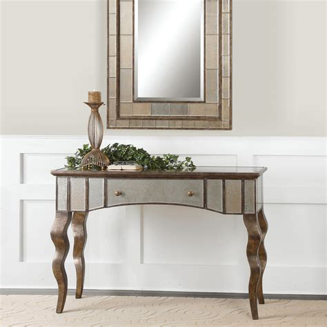Mirrored Sofa Table Furniture by Almont Mirrored Console Table Console