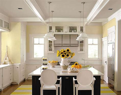 pale yellow kitchen white and yellow kitchen kitchen color combinations