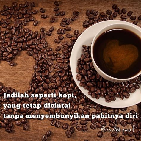 Cinta Kopi kata kata bijak dan meme filosofi secangkir kopi
