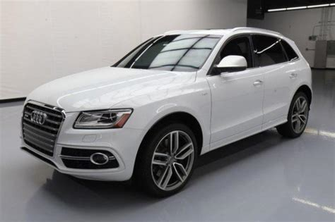 Used Audi Sq5 by Used 2015 Audi Sq5 Car For Sale At Auctionexport