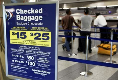 united checked baggage fee new york checked bag fees are here to stay united