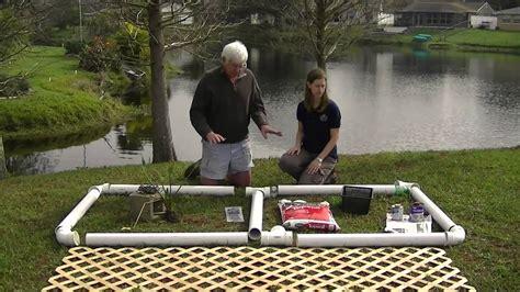 build  floating plant island youtube