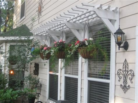 Outdoor Awnings For Windows by 25 Inspiring Outdoor Window Treatments Wooden Pergola