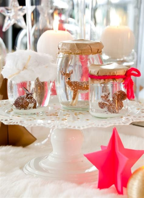 fairy dining christmas decor in pink and gold family