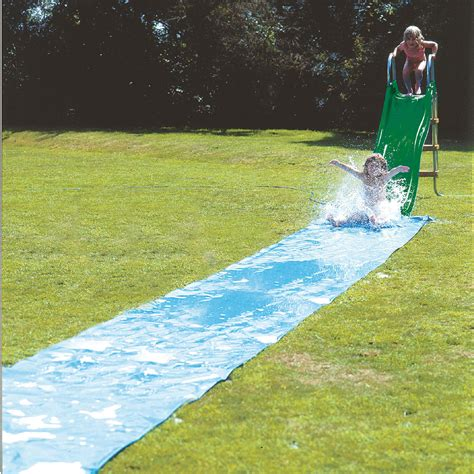 backyard waterslide outdoor water slide uk outdoor furniture design and ideas