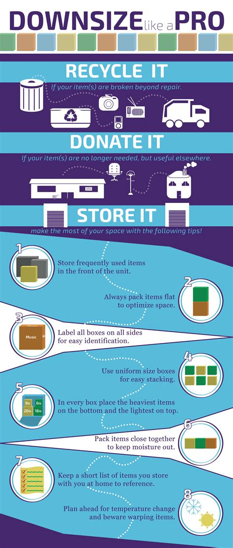 storage tips downsizing storage tips valley storage