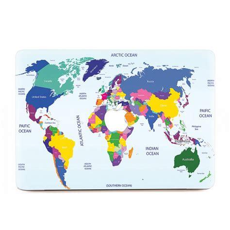 Macbook Aufkleber Weltkarte by Weltkarte 1 Macbook Skin Aufkleber
