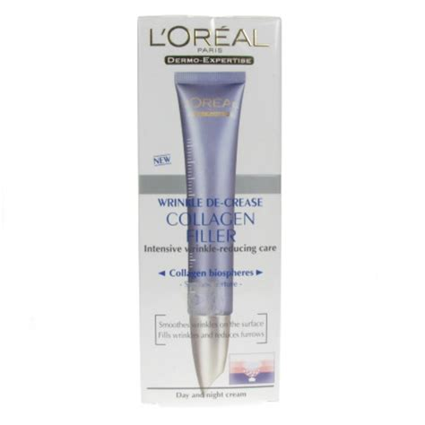 Collagen Loreal l oreal wrinkle de crease collagen filler day