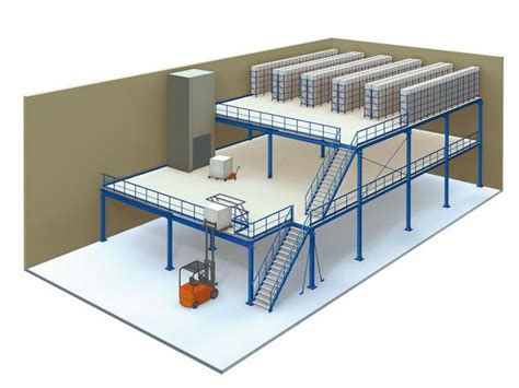 Mezzanine Floor Pdf by Multi Tier Industrial Mezzanine Floors For Warehouse