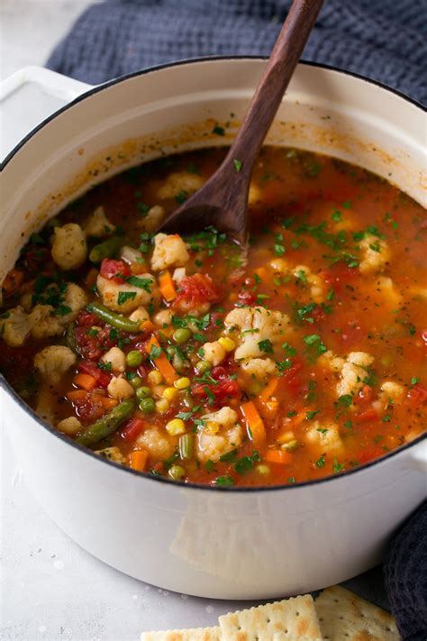 Cooker Kitchen Cauliflower by Easy Cauliflower Vegetable Soup Cooking