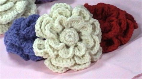 crochet flower pattern on youtube crochet flower tutorial diy part 2 youtube
