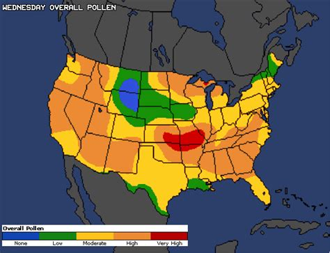 ragweed map usa cnn weather allergy report