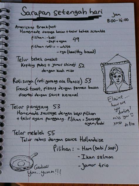Menu Kabinet Coffee Kabinet Coffee Surabaya Kuliner Surabaya