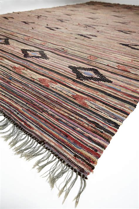 scandinavian rag rugs traditional swedish rag rug 1950s for sale at 1stdibs