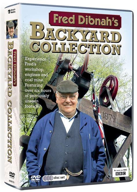 fred dibnah s backyard dvd amazon co uk dvd blu ray