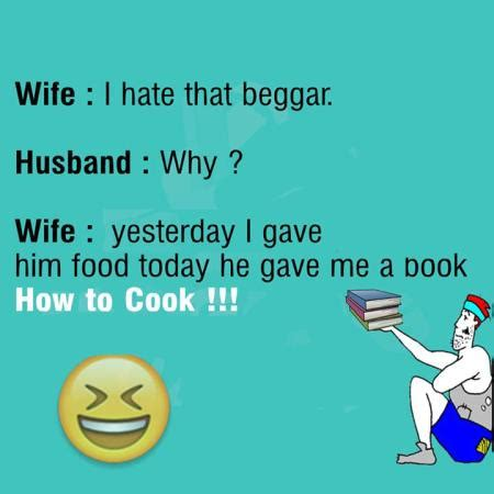 funny joke on wife cooking funny images & photos