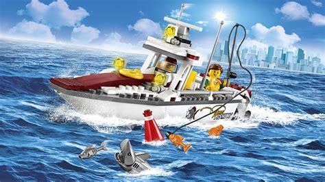 fishing boat lego lego city fishing boat 60147 creative play toy