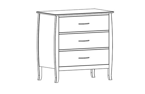line drawer dresser drawing bestdressers 2017