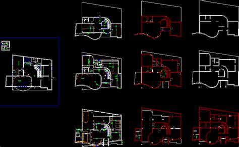 Villa Layout Dwg | modern villa dwg file architecture world