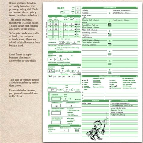 pathfinder templates pathfinder inventory sheet anuvrat info