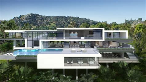 mansion design two modern mansions on sunset plaza drive in la 3 homedsgn