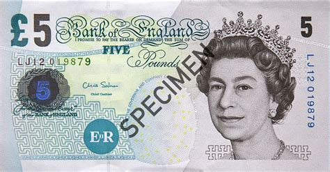 printable fake money pounds 5 pound sterling note counterfeit money detection know how