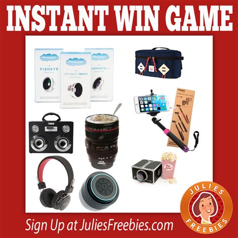 Daily Instant Win - daily snapshot instant win game julie s freebies