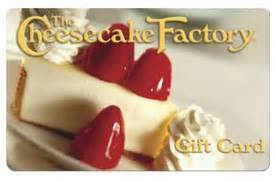 Where Can I Use Cheesecake Factory Gift Cards - win a 50 cheesecake factory gift card los angeles coupons daily draws coupons