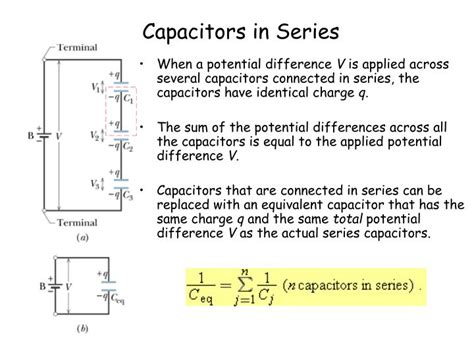capacitor series and parallel ppt ppt chapter 25 capacitance powerpoint presentation id 1273313