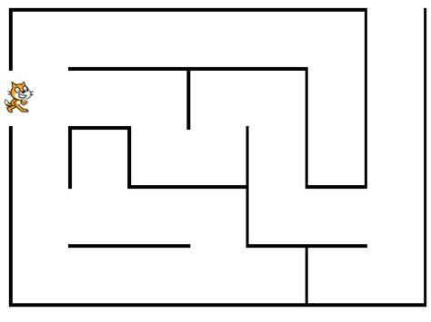 maze game template remix 2 on scratch