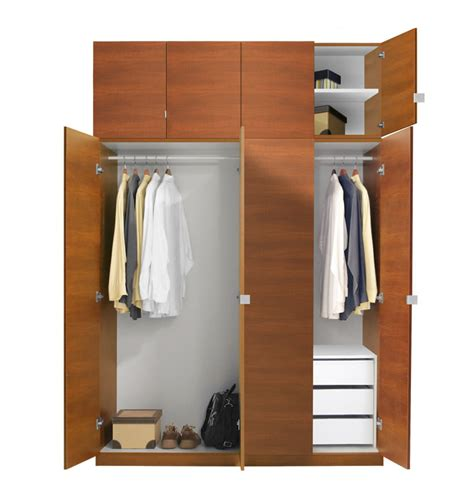 Wardobe Closet by Alta Wardrobe Closet Package 3 Drawer Wardrobe Package