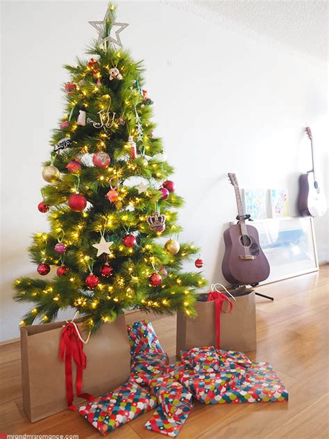 picture of real christmas trees decorated an eclectic travel themed tree tree decorating ideas
