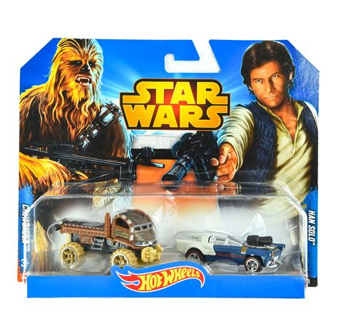 Diecast Wheels Characters Wars Chewbacca wheels wars han and chewbacca samko warehouse