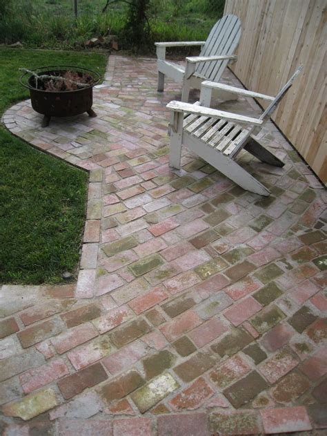 how to brick patio 72 best images about patio on