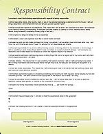 Parent Child Behavior Contract Template by Free Behavior Contracts Parenting Advice