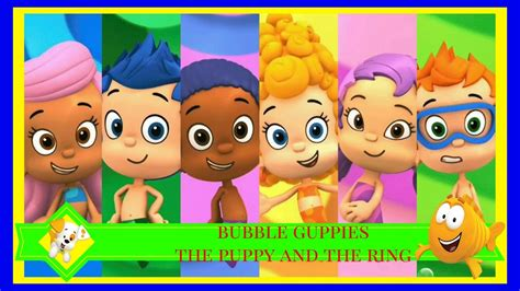 the puppy and the ring nickelodeon guppies the puppy and the ring