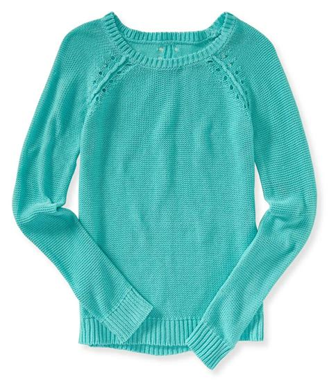 Sweater Aeropostale Open Dot Accent Sweater From Aeropostale New Arrivals