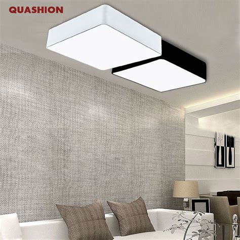 bedroom ceiling lights modern cool diy bedroom lighting modern minimalism rectangle diy led ceiling lights for