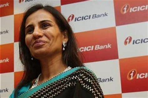 who is the owner of icici bank icici bank chief chanda kochhar receives woodrow wilson