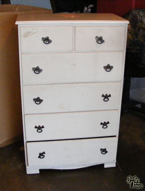 building a doll house with a recycled dresser from