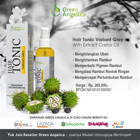 Blackgrey Serum Penghilang Uban green kalimantan