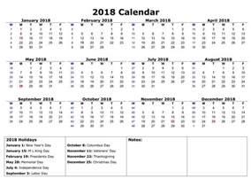 Calendar 2018 Printable Malaysia 2018 Printable Calendar Year Free Loving Printable