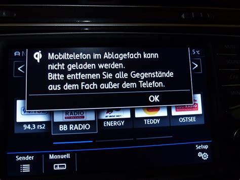 Fehlermeldung Auto by Fehlermeldung Bzw Hinweis Qi Fehlermeldung Vw Tiguan