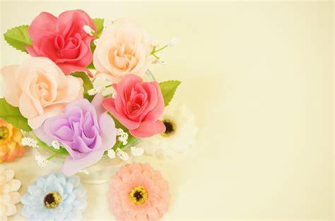gambar desain bunga gambar menanam putih ungu daun bunga jeruk kuning