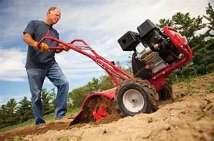 how to use a garden tiller sharpen up