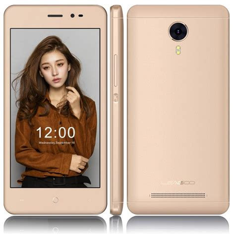 leagoo z5 lte chagne gold t 233 l 233 phone portable leagoo z5 lte 4g sim gold